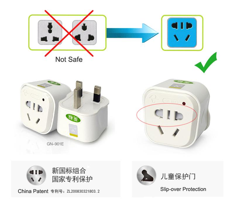 China Australia Plug Converter